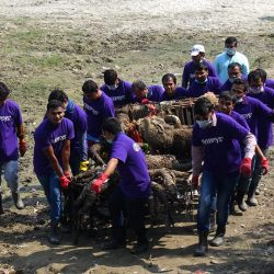 Yamuna Shramdaan 2017 with Ivolunteer and Synopsis