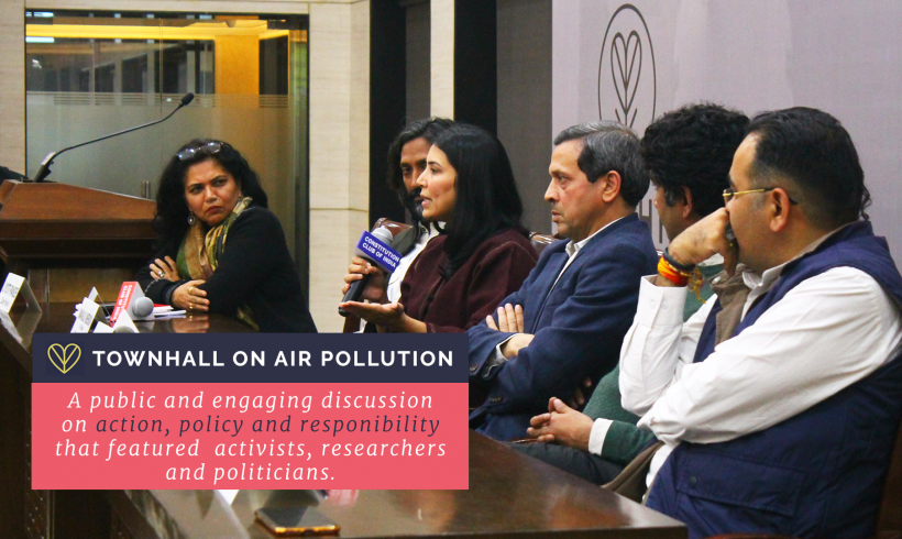 Country With A Mask – A Townhall On Air Pollution